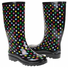 Cute rain boots = perfect for spring