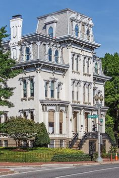 Home of Ulysses S. American Presidents, Us Presidents, Ulysses S Grant, Presidential History, Second Empire, Victorian Architecture, Victorian Houses, Old Buildings, Interesting Facts