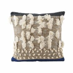 House Doctor Artisan Tassle Cushion: Details from House Doctor is a wonderful pillowcase that adds a natural and eye-catching twist.