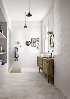 Azulejos para el cuarto de baño: cerámica y porcelánico - Marazzi 6894