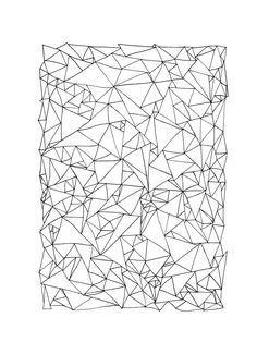 Triangle patterns! by Abigail Stevens, via Behance
