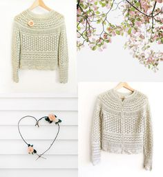 Lace Pullover or Cardigan