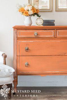 31 best barcelona orange annie sloan images painted furniture rh pinterest com