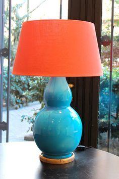 lamparas mesa ceramica mexicana - Buscar con Google