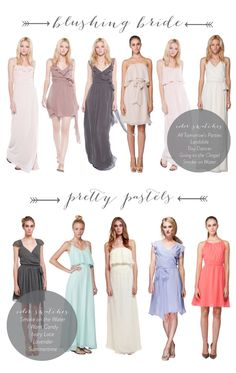GIRLS WHO WANT TO ROCK THE DIFFERENT BRIDESMAID DRESSES.... DO NOT MISS THIS. Joanna August + A Discount!