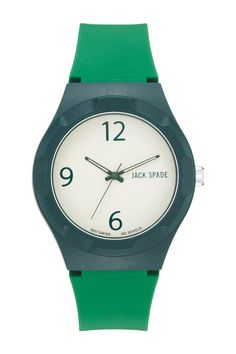 Love the simplicity of the green watch.