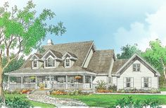 House Plan The Madison by Donald A. Gardner Architects