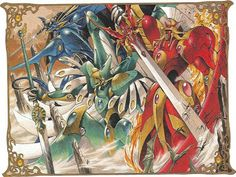 Animes: Guerreras Magicas - Magic Knight Rayearth [MF]