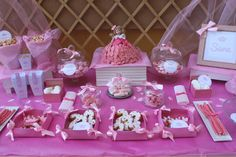 Cumpleaños con temática de princesa en rosa para niña - Pink princess themed girl party
