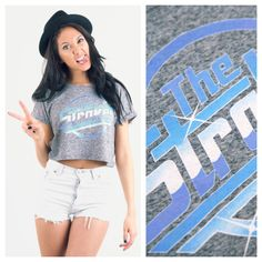 Todays Fashion Fix: The Strokes Fleck Festival Crop. The Strokes, Love Clothing, White Shorts, Crop Tops, Clothes, Women, Fashion, Outfits, Moda