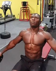 Abs And Cardio Workout, Gym Workouts For Men, Gym Workout Chart, Fitness Workouts, Gym Workout Videos, Weight Training Workouts, Biceps Workout, Strength Workout, Shoulder Workout Routine