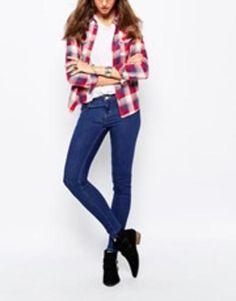 levis super skinny jeans  blue #skinny #skinnyjeans #streetwear #jeans #denim #covetme