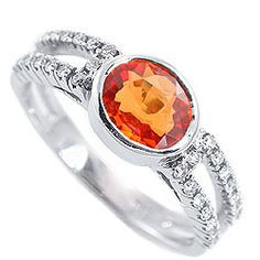 Love the orange gemstones.