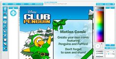Fun Winter Comic Creator included in Comic Creator for Kids