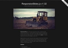 js is a tiny jQuery plugin that automatically creates responsive slider using images inside a container. Jquery Slider, Responsive Slider, Responsive Web Design, Web Design Tools, Tool Design, Ui Design, Web Development Tools, Sliders