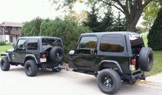 Jeep Wrangler Camper Trailer TJ YJ Hunting Fishing