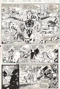 Uncanny X-Men #271 pg 11 - AWESOME Psylocke by Jim Lee Comic Art Comic Book Artists, Comic Artist, Comic Books Art, Book Cover Art, Comic Book Covers, Example Of Comics, Jim Lee Art, Psylocke, Comic Panels