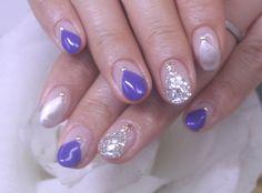 「三角フレンチ nail」の画像 ionailのネイルデザイン写真集  Ameba (アメーバ)