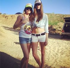 kristina and her sister