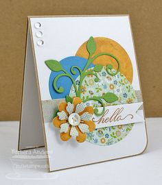 Hello - MFTWSC #118 by Bar - Cards and Paper Crafts at Splitcoaststampers