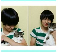Jeno and his cat Bongsik Jeno Nct, Jeno Smrookies, Nct 127, Nct Dream Profile, Boyfriend Pictures, Sm Rookies, Dream Baby, Kris Wu, Nct Taeyong