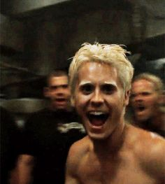 Jared Leto Movies, Jared Leto Gif, Blonde Hair Boy, Blonde Guys, Movies To Watch, Good Movies, Fight Club 1999, Marla Singer, David Fincher