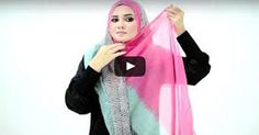 Tutorial : 4 Ways to Style Wide Shawl by Muslimah Clothing Couture 60s And 70s Fashion, Fashion Now, Fashion Tips For Women, Retro Fashion, Womens Fashion, Fashion Dress Up Games, Winter Fashion Outfits, Skirt Fashion, Burqa Fashion