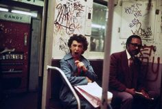 Photography: New York Subway in 1973 (12 Pictures)