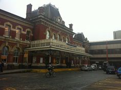 Portsmouth & Southsea Railway Station (PMS) in Portsmouth, Hampshire