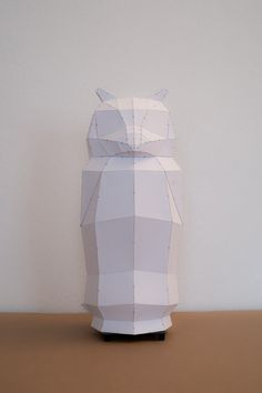 OWL / do it yourself paper lamp shade por mostlikelyShop en Etsy