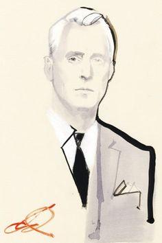 Roger Sterling - Illustration by Bob Peak