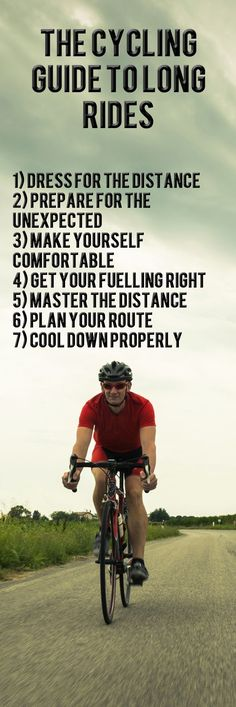 The long ride is the best workout to build endurance and improve fat burning. How to have the perfect long bike ride.