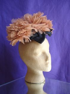 30s feather headpiece