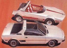 Autobianchi Runabout and Fiat sketch Fiat X19, Racing Car Design, Car Illustration, Illustrations, Fiat Abarth, Pedal Cars, Car Sketch, Automotive Art, Transportation Design
