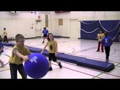 Modified Invasion Games with Omnikin. Two examples of modified games that involve using the Omnikin 6 ball. These balls are great to use with elementary students.