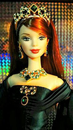 Barbie in Emerald Green