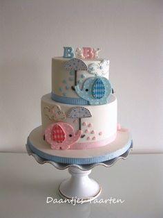 bolo para cha de bebe