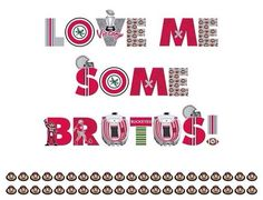 Love me some Brutus! Works for the Buckeyes & my best friend Brutus the Beagle! Ohio State Michigan, My Ohio, Ohio State University, Ohio State Football Jerseys, Buckeyes Football, Football Stuff, The Buckeye State, Ohio State Buckeyes, Buckeye Nut