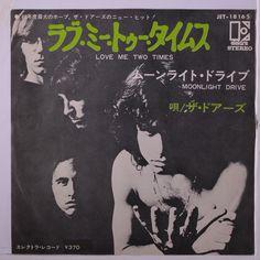 DOORS Love Me Two Times / Moonlight Drive 45 (Japan PS insert w/ company sle  sc 1 st  Pinterest & The Doors Love Me Two Times released in Portugal #thedoors #vinyl ...