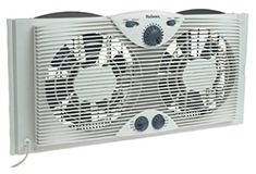 online shopping for HOLMES Dual 8 Blade Twin Window Fan Manual Controls, 3 Speed Settings, White from top store. See new offer for HOLMES Dual 8 Blade Twin Window Fan Manual Controls, 3 Speed Settings, White Window Fans, Slider Window, Kitchen Exhaust, Best Windows, Small Windows, Rainy Weather, Cool Technology, Cool Kitchens