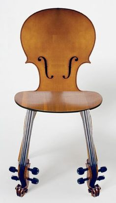 Cello Chair with a beautiful sleek design.