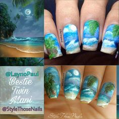 Style Those Nails: Bestie Nails with Featured Artist Paulie aka LaynoPaul http://www.stylethosenails.com/2016/11/bestie-nails-with-featured-artist.html@laynopaul