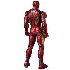 "Iron Man Mark XLV 6"" MAFEX action figure"