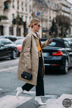 Chiara capitani by styledumonde street style photography 2018 Fashion Mode, Look Fashion, Street Fashion, Winter Fashion, Womens Fashion, Fashion Trends, Fashion Ideas, Street Looks, Look Street Style