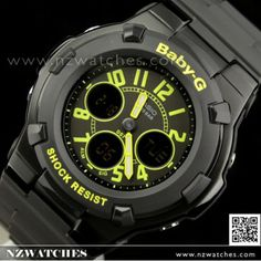 9a2f10b5d5a5 Casio Baby-G Alarm World Time Sport Watch BGA-117-1B3