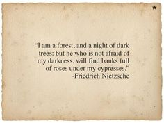 Actually, it's hard to find anything good at all, in the darkness. No roses, no life, only solitude and coldness.