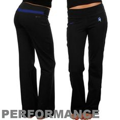 Nike Duke Blue Devils Ladies Black Be Strong Performance Pants