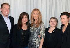 Steve, Marie, Celine, Abi and Brianna