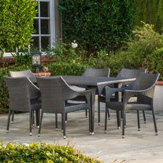 Find This Pin And More On Patio Furniture. Home Loft Concept Cliff Outdoor 7  Piece Dining Set