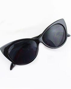 Black Cat Eye Sunglasses 11.60